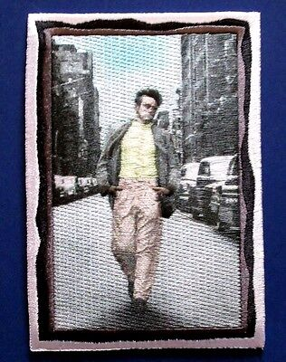 JAMES DEAN walking EMBROIDERED IRON-ON PATCH Free Shipping rebel without a cause