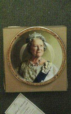 our gracious majesty queen mother plate ltd edition with certificate