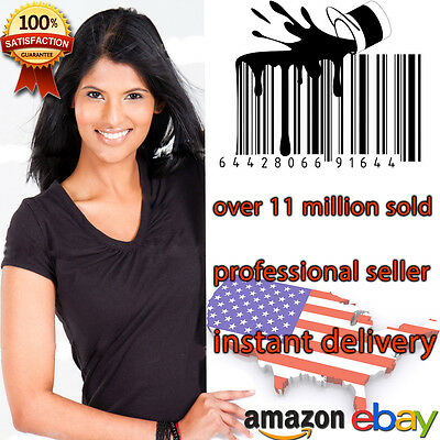15 UPC Numbers Barcodes Bar Code GS1-issue EAN Amazon Lifetime Guarantee