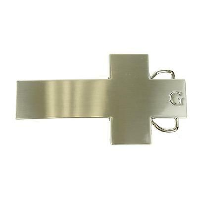 Cross Shaped Belt Buckle Religious Symbol