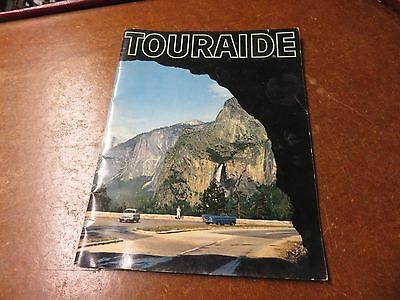 Vintage 1959 Touraide Continental Oil Company Conoco Road Map United States