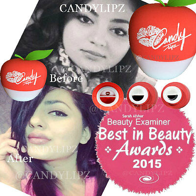 AUTHENTIC CandyLipz Red Apple Lip Plumper/Best in Beauty Award/Valued at $69.99