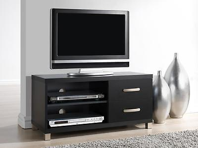 "Techni Mobili RTA-8896-BK Modern TV for Up To 40"" Stand with Storage Black"