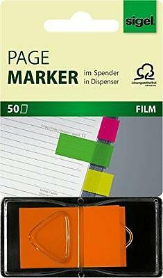 """Sigel Index Repositionnables """"z-Marker"""" Film Neon,25 X"""