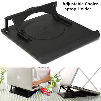360° Rotatable Adjustable Angle Stand Holder Cooling Cooler Pad For Laptop PC
