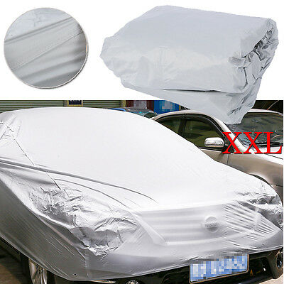 XXL Large Universal Full Car Cover Anti UV Dust Scratch Resistant Protection AU