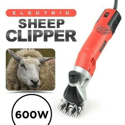 600W & 6-Speed Electric Shearing Supplies Clipper Shear Sheep Goats Alpaca Farm