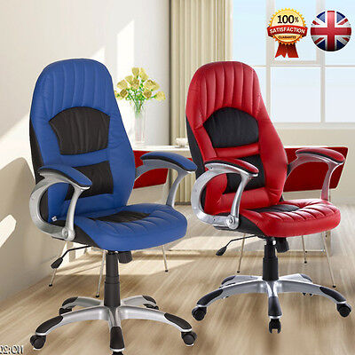 Life Carver 2016 Luxury PU Leather High Back Swivel Gaming/Racing/Office Chair