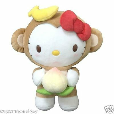 Sanrio Hello Kitty Plush Doll Year Of The Monkey 8 Inch Rd00197