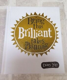 Bright Side Diary 2017  - Being This Brilliant Takes Planing - A5 Hardback Diary