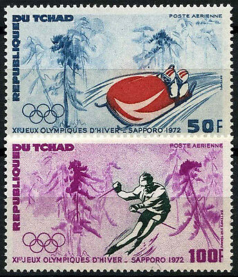 Chad 1972 SG#355-6 Winter Olympic Games MNH Set #D35354