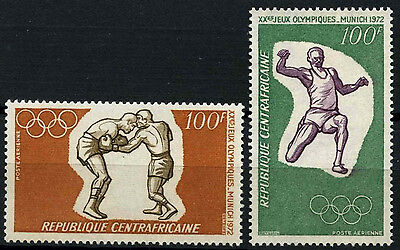 Central African Republic 1972 SG#275-6 Olympic Games MNH Set #D35364