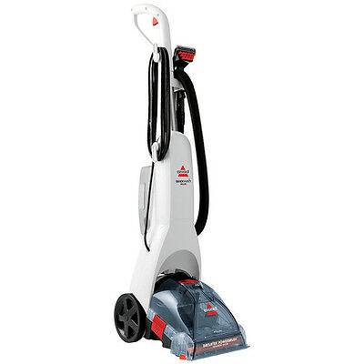 Bissell 68W6B QuickWash Deluxe Carpet Cleaner White 1.9L Powerful Suction Action