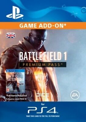 Battlefield 1 Premium Pass PS4 - Same Day Dispatch