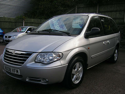 2008 Chrysler Voyager 2.8CRD Executive AUTOMATIC DIESEL MPV.