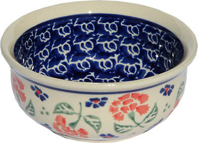"Polish Pottery Bowl 3.75"" from Zaklady Boleslawiec GU1384/963"