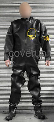 Price Reduction. Viking Amron Explorer Black Rubber Drysuit Diving Suit Medium