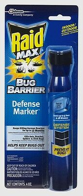 New Raid Max Insect Repellent Deltamethrin Spray 4oz. Defense Marker 75139