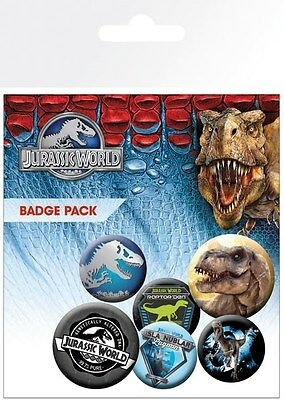 Anstecker-Paket Jurassic World