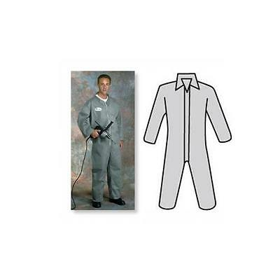 West Chester XL C3900 PosiWear M3 SMMMS Disposable Zip-Up Work / Dust Coveralls