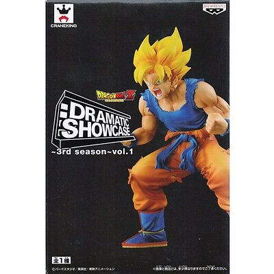 Banpresto Dragon Ball Z Super Saiyan Goku Dramatic Showcase 3rd Season Figure