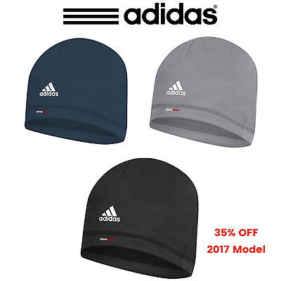 """NEW 2017"" Adidas ClimaWarm Lightweight Microfleece Warm Hat Golf Winter Beanie"