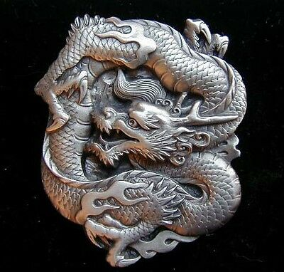 Chinese Dragon Belt Buckle Very Cool! Buckles