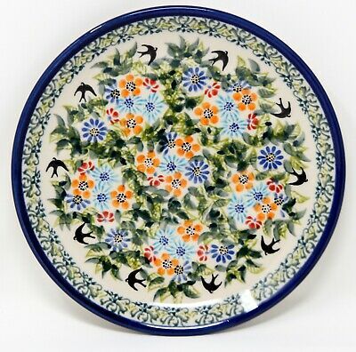 Polish Pottery Plate 7.5 Inch from Zaklady Boleslawiec Polish GU814/312