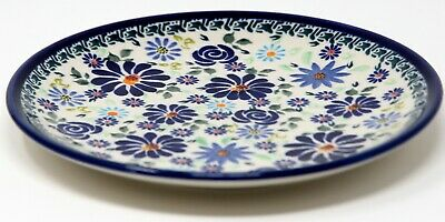 Polish Pottery Plate 7.5 Inch from Zaklady Boleslawiec Polish GU814/453