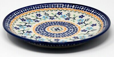 Polish Pottery Plate 7.5 Inch from Zaklady Boleslawiec Polish GU814/964