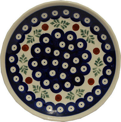Polish Pottery Plate 6.5 Inch from Zaklady Boleslawiec Polish gu818/242