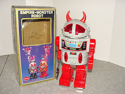 VIntage Batery Operated Monster Robot in the Box