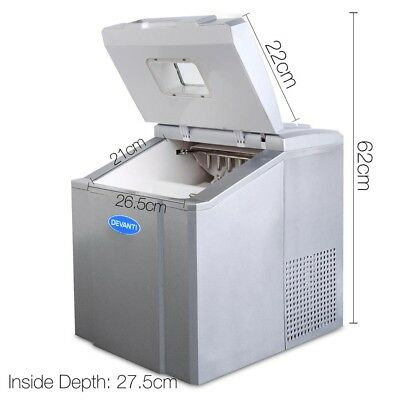 NEW Commercial Home Ice Maker Ice Cube Making Machine Portable Cafe Bar Party
