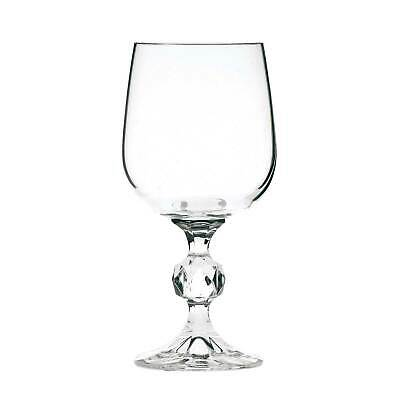 Claudia Crystal White Wine Glasses 190ml - Set of 6 - Bohemia Crystal Glassware