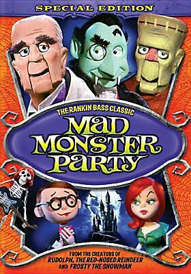 Mad Monster Party (special Edition) - DVD Region 1 Free Shipping!