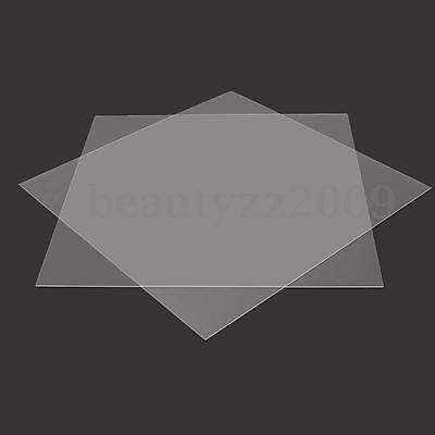 1mm 2mm 400x400mm Acrylic Perspex Sheet Cut to Size Panel Plastic Satin Gloss