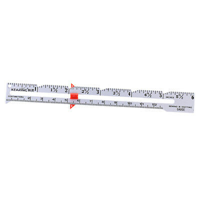 Sewing and Knitting Gauge Sewing Ruler Measuring Tool Sewing Accessory DIY