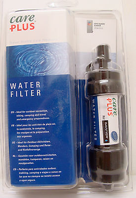 Care Plus Travel Water Filter,ideal for travel abroad,camping etc.