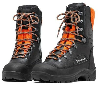 New Husqvarna Classic Leather Boots Class 1 Chainsaw Protection