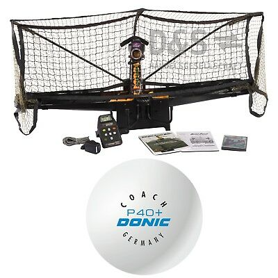 "DONIC ""Newgy ROBOPONG 2050"" Cell-Free Bundle / Inkl. 120 DONIC Trainingsbällen"