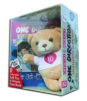 The Official One Direction Ultimate Gift Set Collectable Soft Toy and Fans Book