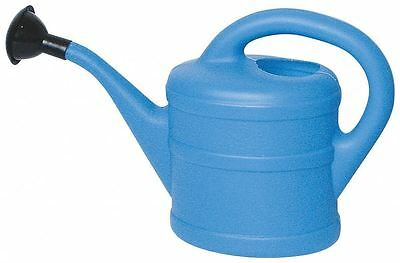 Childrens Kids Small Garden Plants Watering Can With Rose 1 Litre - Blue