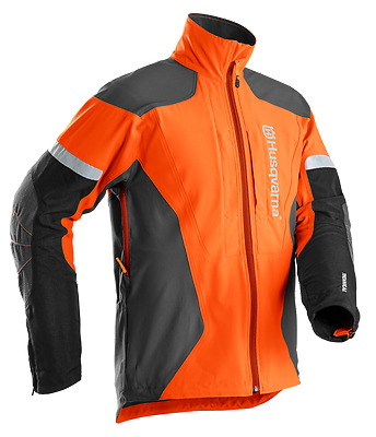 Husqvarna Technical Chainsaw Forest Orange High Vis Jacket - All Sizes