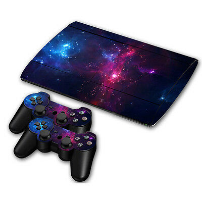 Skin Sticker Vinyl Decal Cover For Playstation 3 PS3 Super Slim CECH-4000 ZY0050