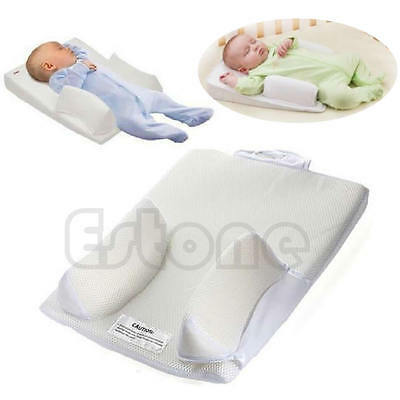 Infant Baby Sleep Pillow Fixed Positioner System Prevent Flat Head Ultimate Vent