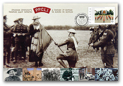 CANADA #S100 Patricia's Canadian Light Infantry Special Event Cover