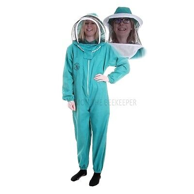 BUZZ BASIC Green Suit with Fencing Veil and Round Veil