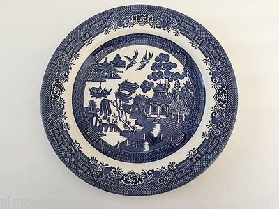 """Blue Willow Ware by Churchill England - 10-1/4"""" DINNER PLATE"""