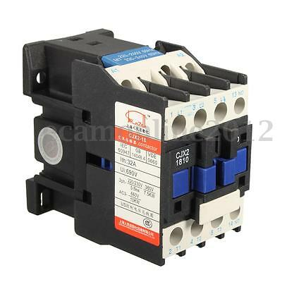 Power AC Contactor 1NO 220V 50/60Hz Coil Motor Starter Relay 32A 3-Phase Pole