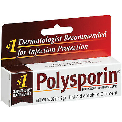 Polysporin Original Antibiotic Ointment First Aid Cuts/Burns/Infection Cream